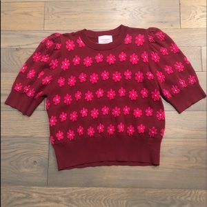 Kate Spade Market Floral Sweater Size L (NWT)